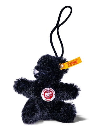 Black Teddy Pendant EAN 027888 by by Steiff<br>
