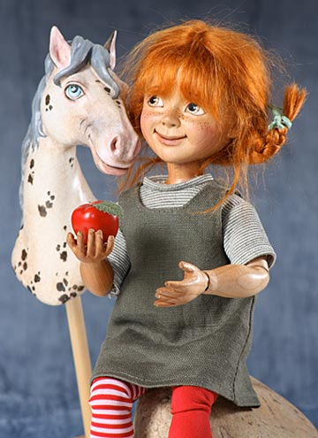 Pippi Longstocking And Alfonso Set