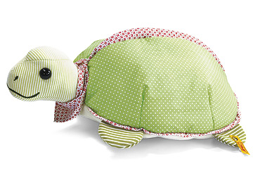 Steiff's Family Circus Turtle Cushion With Bag EAN EAN 235603