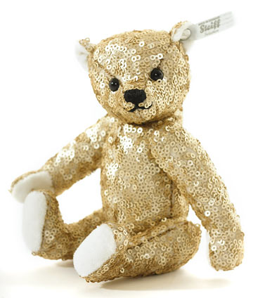 Enchanted Forest Teddy Bear Gold EAN 025945