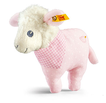 Sweet Dreams Lamb Rattle, Pink EAN 239656