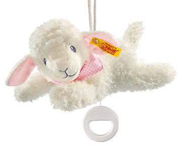 Sweet Dreams Lamb Music Box, Pink EAN 239649