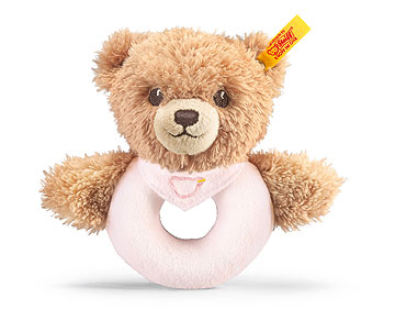 Sleep Well Bear Grip Toy, Pink EAN 239557