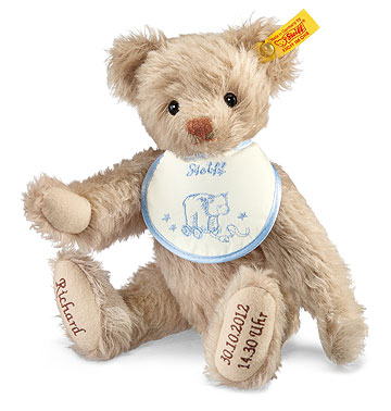 Blue Birth Teddy Bear EAN 001765