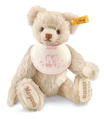 Pink Birth Teddy Bear EAN 001758