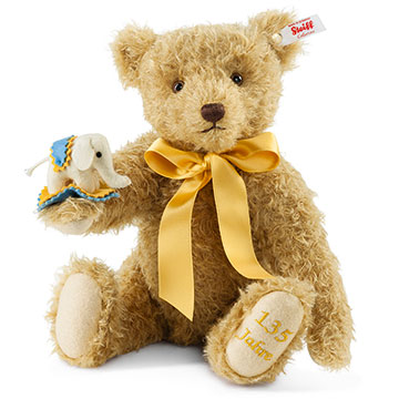 Steiff 135 year Jubilee Teddy Bear EAN 034046