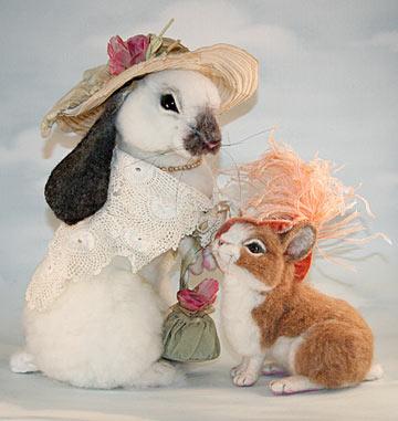 Stevi T dressed bunnies