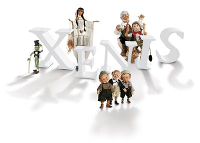 Xenis Wood Dolls At the Toy Shoppe